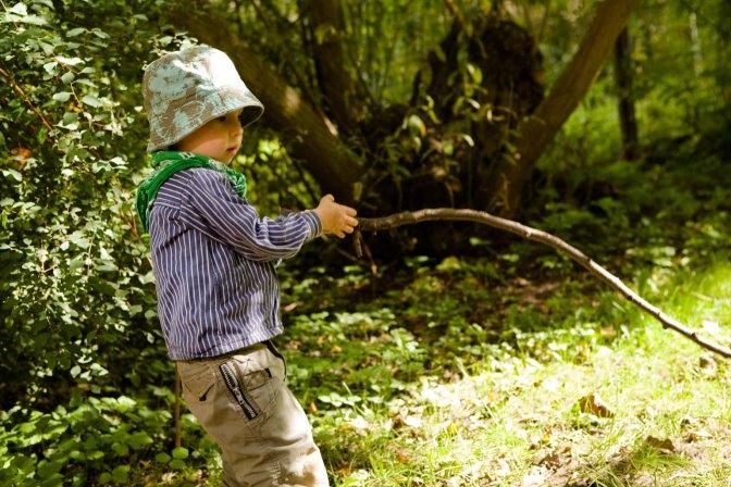 An die Schaufeln – fertig – los! Gärtnern macht Kindern Spaß und motiviert zur Bewegung!