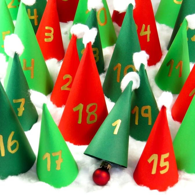 Der peb-Adventskalender mit 24 Tipps für eine gesunde Adventszeit mit viel Bewegung und ausgewogener Ernährung