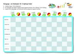Medeinplan 3-6 Jährige